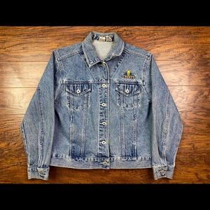 Vintage tweety bird jean jacket